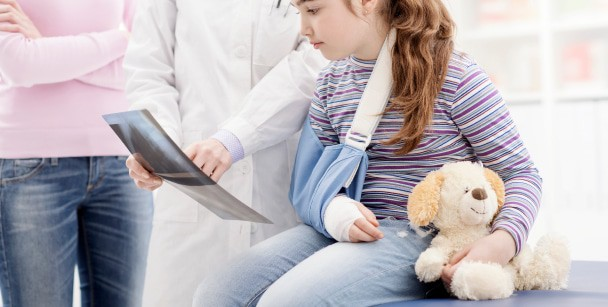 Broken Bones & Sprains is one of 13 reasons to go to the Emergency Room