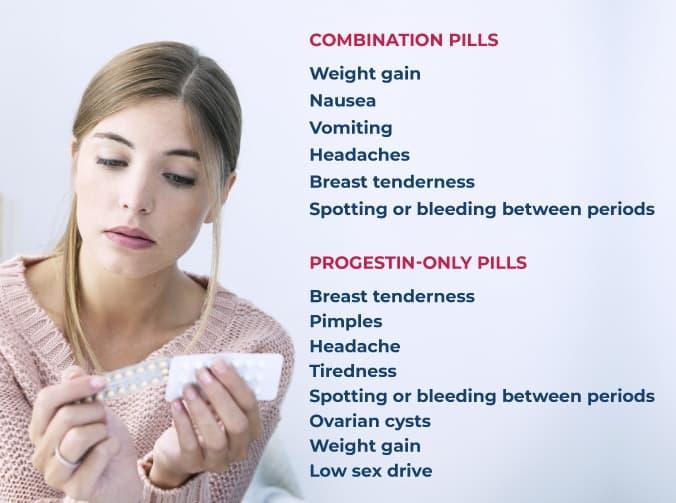 birth control side effects